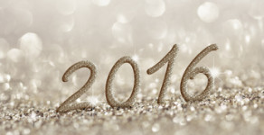 Golden and silver shimmering Christmas or New Year's Eve background